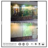 PDLC Self-adhesive window film, any size is available.Used mostly for villa, commerical place,office