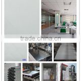 white pvc laminated gypsum ceiling tiles