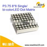 XH-12088 15088 3MM Row Common Anode Led Dot Matrix 8*8 Display
