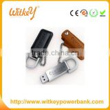 Leather with ring 1gb 2gb 4gb 8gb 16gb 32gb 64gb 128gb 256gb usb flash drive wholesale bulk cheap