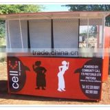 With your logo outdoor food kiosk for sale, food street kiosk for sale, mobile food cart kiosk fast building
