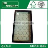 Wholesale 9 Compartments Wooden Memorial coin Packaging Box