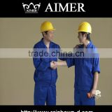 trade assurance Polycotton flame resistant Reflective coverall solid fabric for coal mine workware