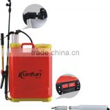 kaifeng factory supplier high quality battery electric power sprayer(1l-20l) perfume sprayer crimping machine
