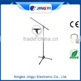 High Quality black microphone stand and microphone stand parts