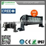"7""INCH high power 9-32VDC offroad driving 36w led light bar semi-truck trailer led light bars DRLB36"