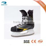 2015 new style, upscale and high quality Fixed size ice skating shoes & ice hockey skates for ice rink