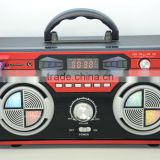 New Arrival Dongguan Super Bass Portable AM FM Stereo Retro Radio Speaker