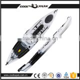 plastic kayak with pedals and rudder cool kayak brands