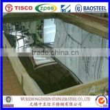 China factory professional supply tisco 8K Mirror finish stainless steel sheet 304L protected by PVC film