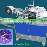 INquiry about Automatic Camphor Cake Packing Machine