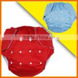 2015 China Manufacturer New Pattern Waterproof Reusable Adult Cloth Diaper                                                                         Quality Choice
