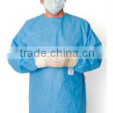 Operation Sterilized Clothes medical surgical gown with sleeve white surgical gown with cap