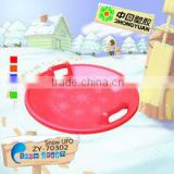 2016 New Outdoor kids Winter Plastic Snow Sled for wholesale