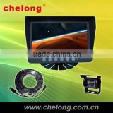 "SHARP 1/3"" high-resolution CCD Suitable most vehicles 7 inch in-car stand-alone digital screen car monitor"