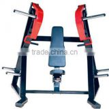 gym equipment adjustable weight bench seated chest press bench