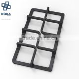 Enameled Cast Iron Pan Support / Furnace Frame / Grate for Hob / Cooktop / Oven