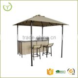 New design BBQ gazebo with bar stools and bar table patio canopy tent                                                                         Quality Choice