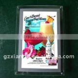 Storefront Display Crystal Light Box backlit photo box