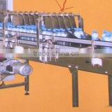 Enter-part dispart path model conveyor system, automatic box machine, automatic carton box packing machine