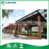 Outdoor wood plastic composite pergola Decorative Waterproof Pergola