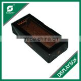 FOOD INDUSTRY PE COATED FOOD DISPLAY BOX BLACK PVC WINDOW FOOD CONTAINERS WHOLESALE                                                                         Quality Choice