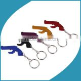 Factory Directly Custom Beer Bottle Opener / Corkscrew Metal Keyring Keychain For promotion Gift