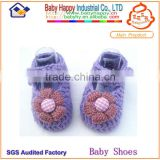 popular new design cheap crochet baby booties