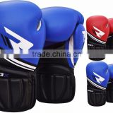 Leather Boxing Gloves Fight Punch Bag MMA Grappling Jab Pads