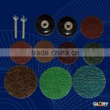 aluminium oxide powder abrasive fiber cloth disc for grind welding seam
