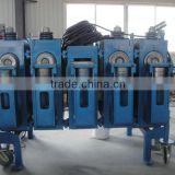 sprial steel silo forming and stripe machine for storage or SM40 Spiral steel silo forming machine for storage
