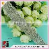 HC-7003 -1 Hechun Guangzhou New Arrival Bridal Beaded Trimming Belt Sash