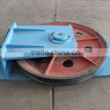 iron tailing wheels for lifting machine