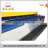 Professional double spiral automatic chain link fencing machine with high quality