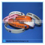 wholesale jewelry debossed silicone rubber band bracelets for boys