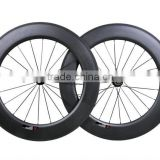 super light Carbon Road Bike Wheelset 88mm aero Road Bike Carbon Wheelset high quality u shape carbon wheels for road bike