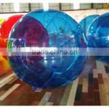Guangzhou factory amusement water park inflatable water walking balls, water bubbler ball, water stress ball