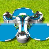 Giant inflatable floating water park,commercial inflatable water park floating island,Inflatable aqua park for sale