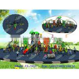 Hot-selling galvanized pipe & LLDPE combined climbing park