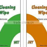 Can Two Choose Screen Cleaning Wipes Coming!Dry Wet Screen Cleaning Tissue With CE FDA Certificates