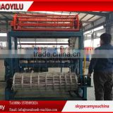 Hinge joint grassland fence making machine