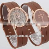 Top brands double strap watch italian brands antique leather strap watch