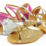 Children latin shoes,custom dance shoes,ballroom shoes