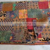 WHOLESALE LOTS IKAT KANTHA THROWS AND QUILTS INDIA