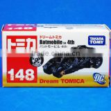 Hot sale Takara Tomy pixar Car toys Dream Tomica 146 Batman Batmobile Diecast DC Universe Car Model Toy