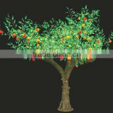 RED and GREEN color LED artificial peach tree light