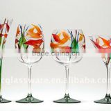 Hand made Juice and ice cream glass sets