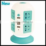 Universal Power Strip Socket 8 Outlets with circuit breaker Home/ Office Over Current Protector