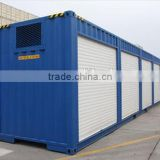 insulation steel modern mobile locker room modified shipping container house