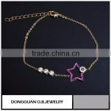 Wholesale Simple style Gold Jewelry Baby Chain Smart Bracelet
